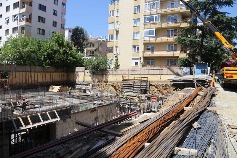 Sunsetpark Göztepe'de inşaat başladı