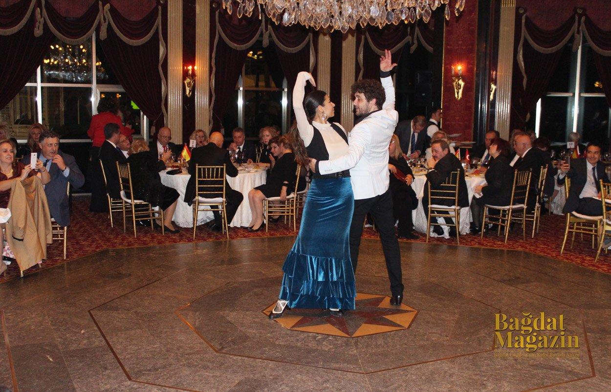 Büyük Kulüp'te Türk-İspanyol Kültür Gecesi