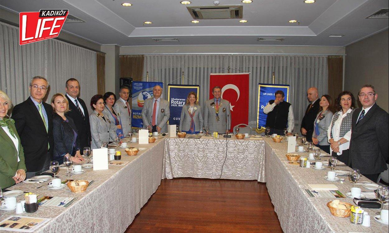 Dragos Rotary'den Coşkun Aral'a Meslek Onur Ödülü