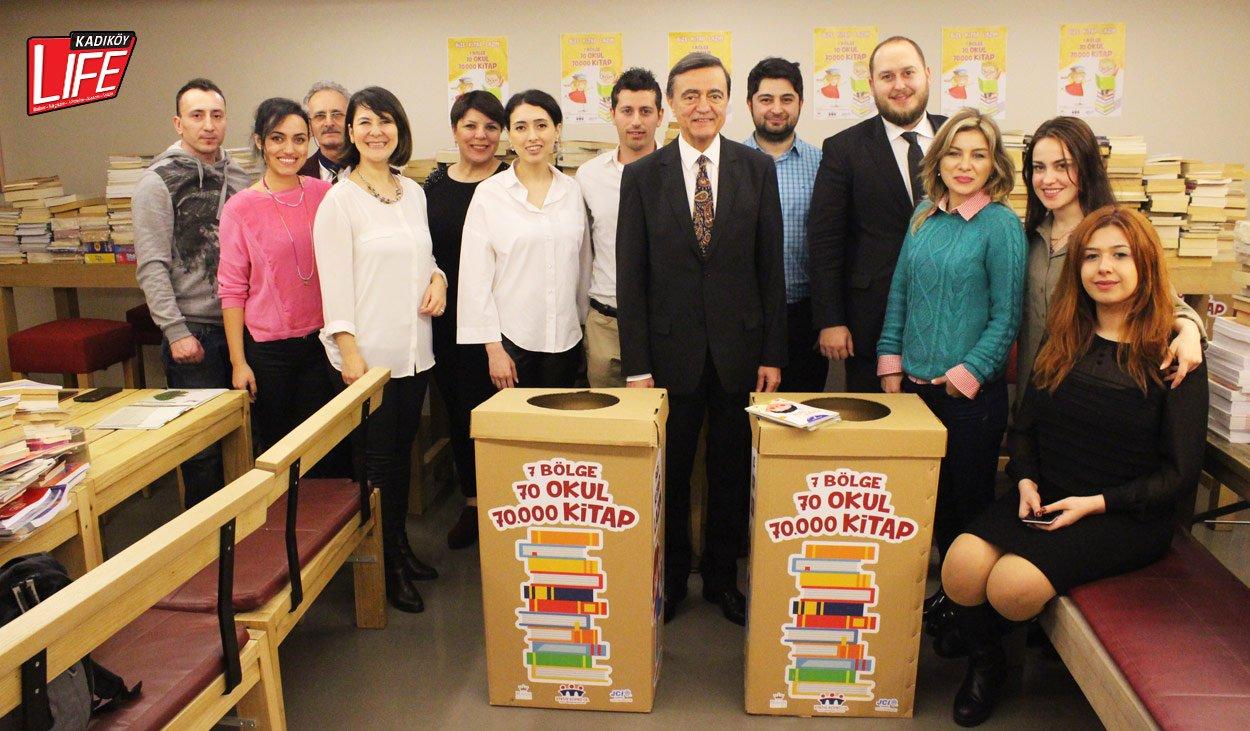 JCI Kadıköy'den Suadiye'de kitap tasnif etkinliği