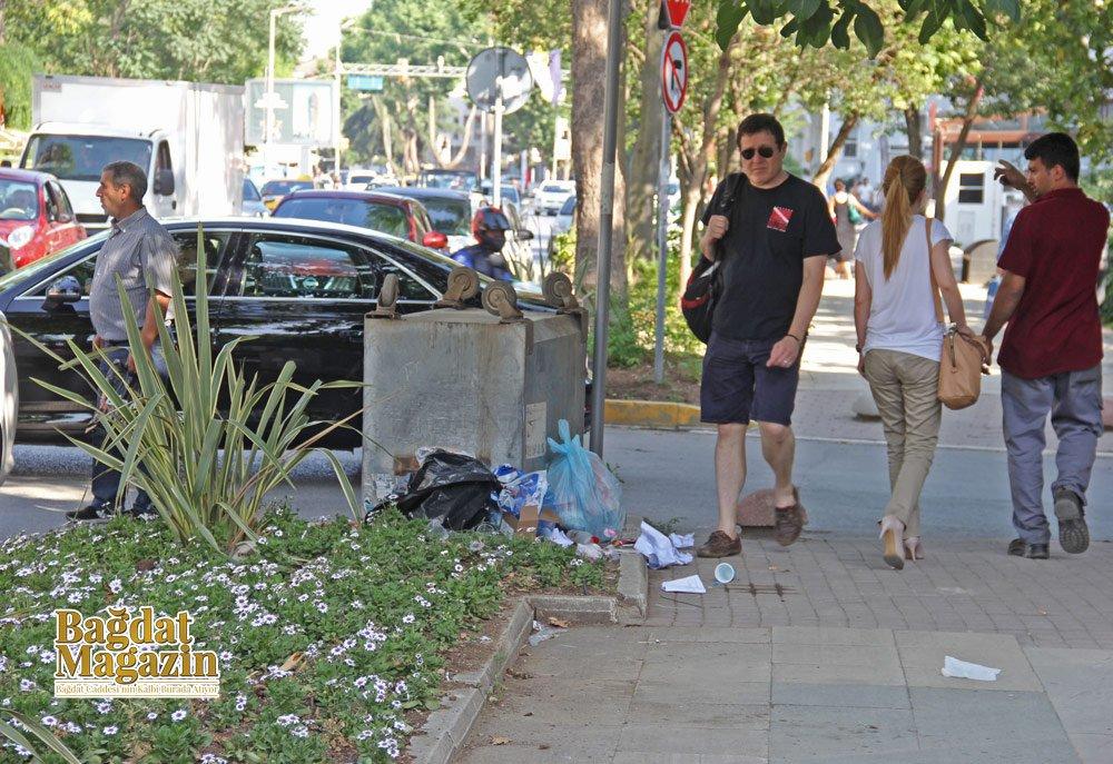 """Bağdat Caddesi'nde """"artık yeter"""" dedirten görüntü!"""