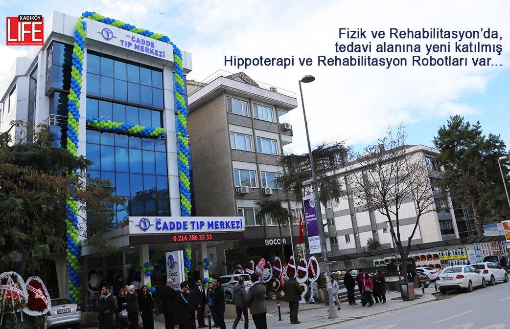 Cadde Tıp Merkezi'nin resmi açılışı yapıldı