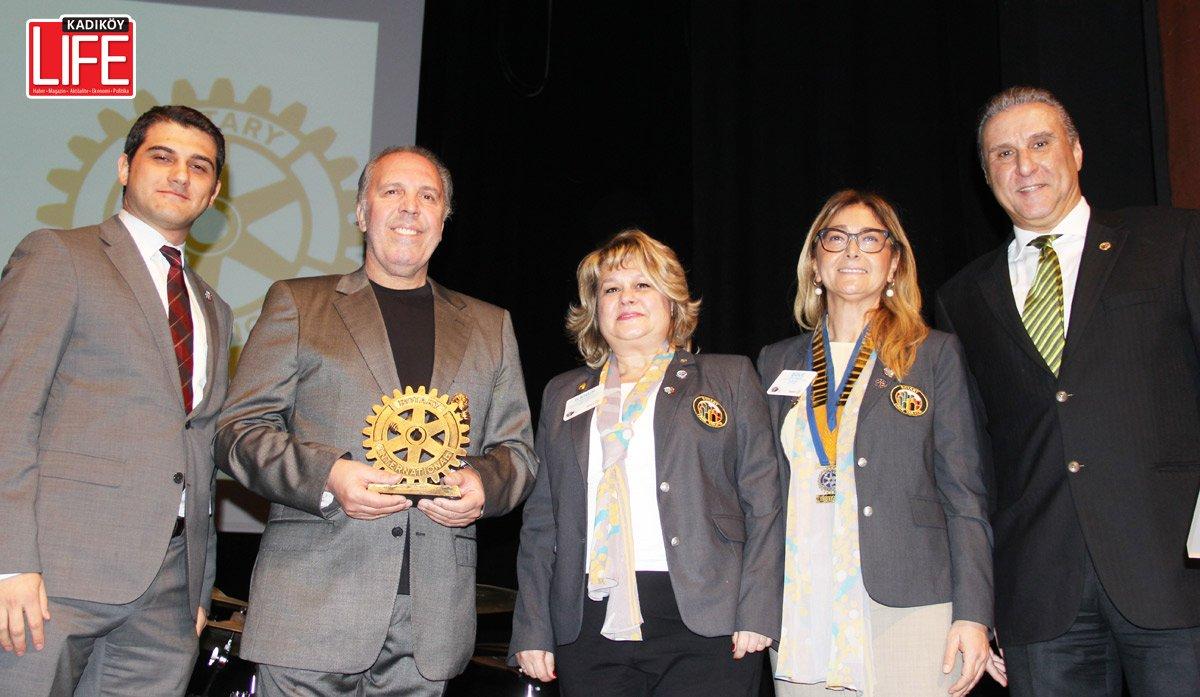 Bostancı Rotary, Fatih Erkoç'u ağırladı