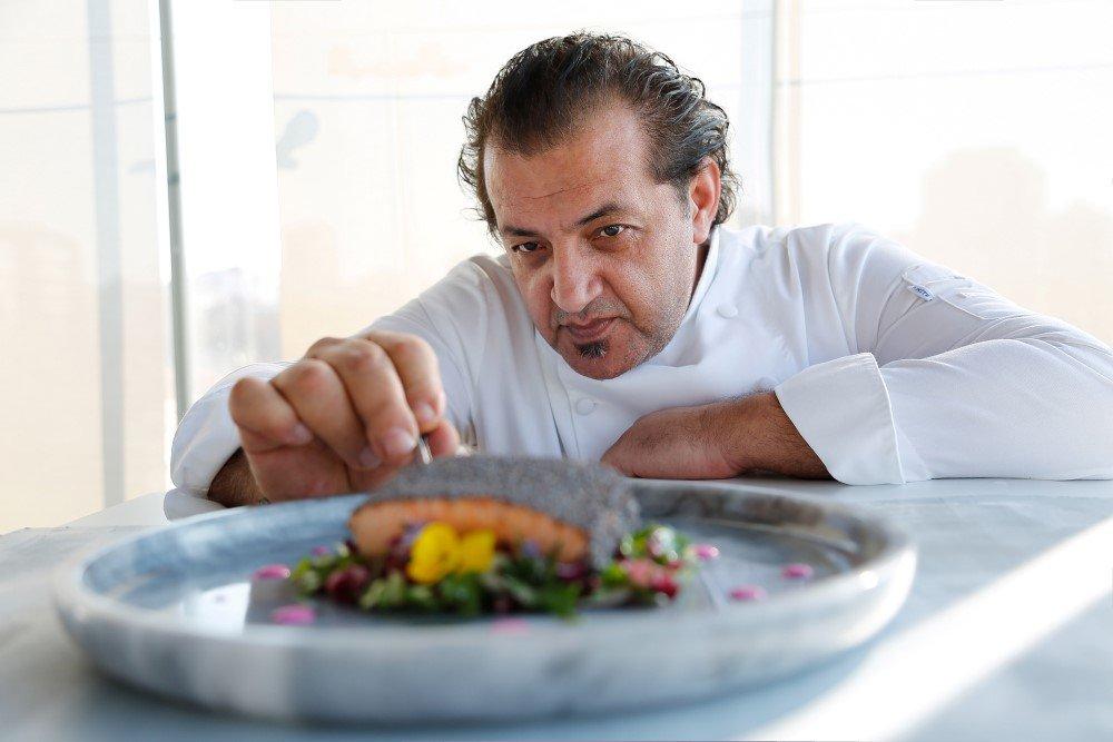 OUZO Roof Restaurant Executive Şef Mehmet Yalçınkaya